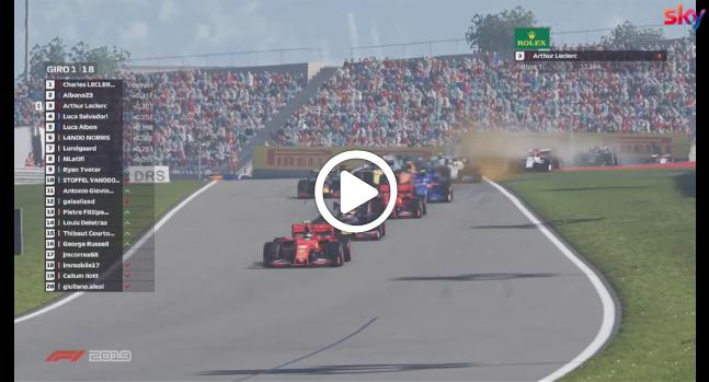 F1 | Race For The World, bagarre al via nel GP d'Austria [VIDEO]