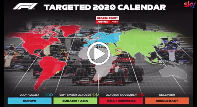 F1 | Liberty scalda i motori per il calendario 2020 [VIDEO]