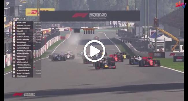 F1 | Race For The World, lo start del round di Spa [VIDEO]