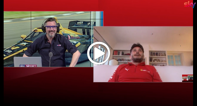 "F1 | Fisichella pronto per i ""Virtual GP"": ""Presto avrò un simulatore anch'io"" [VIDEO]"