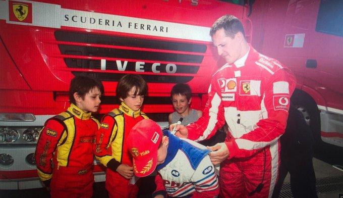 F1 | Leclerc racconta il primo incontro con Michael Schumacher