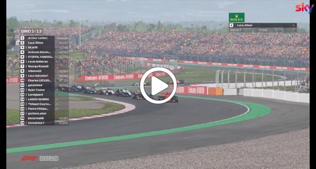 Formula 1   Race For The World, la partenza del GP di Spagna [VIDEO]
