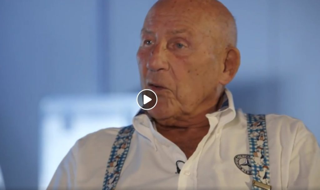 F1 | Stirling Moss, la Mercedes ricorda il Cavaliere del rischio britannico [VIDEO]