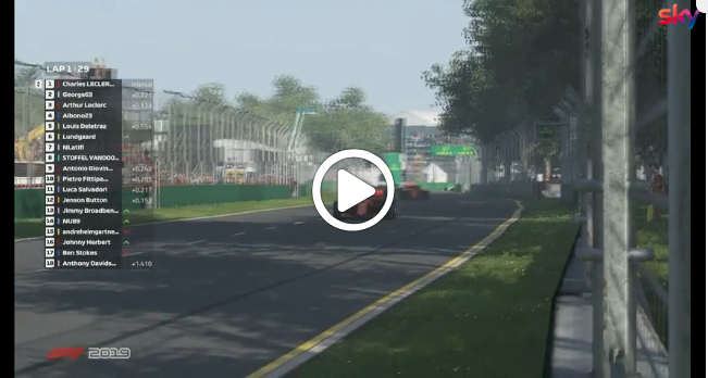 F1 | Virtual GP, gli highlights della gara di ieri [VIDEO]