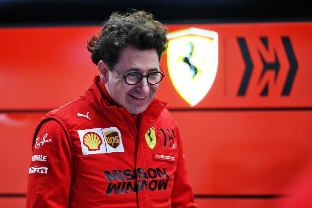 """F1   Ferrari, Binotto: """"Sainz è un pilota molto veloce, Vettel farà una bellissima stagione"""""""