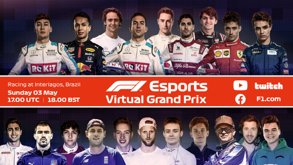 F1 eSport | Virtual GP Interlagos: la Gara in DIRETTA [VIDEO]