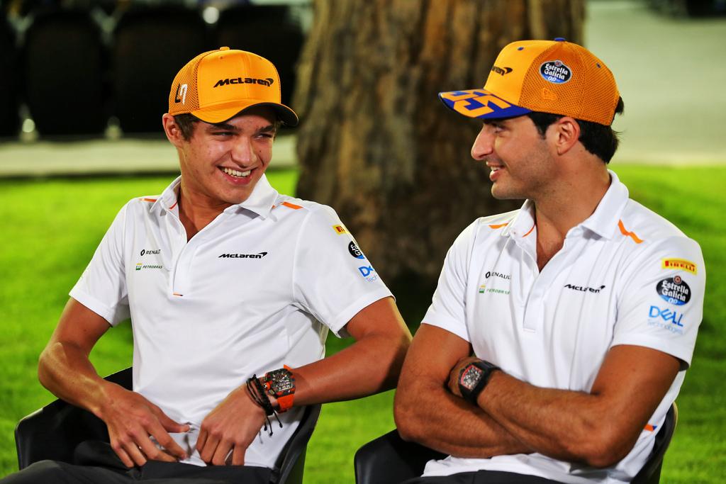 """F1   Norris saluta Sainz: """"E' stato un piacere"""""""