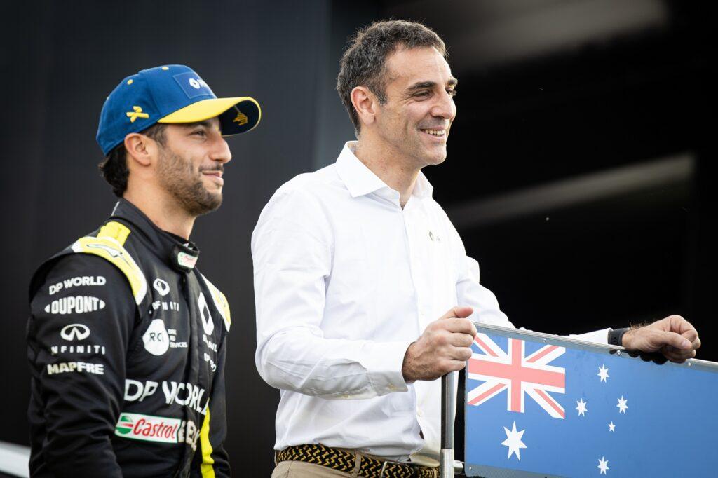 F1 | Renault, la delusione di Abiteboul sull'addio di Ricciardo