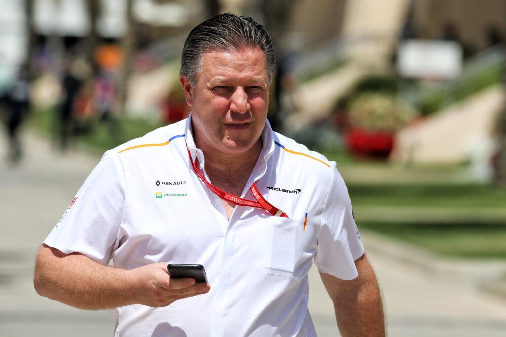 """F1   Zak Brown: """"Un peccato perdere Silverstone"""""""