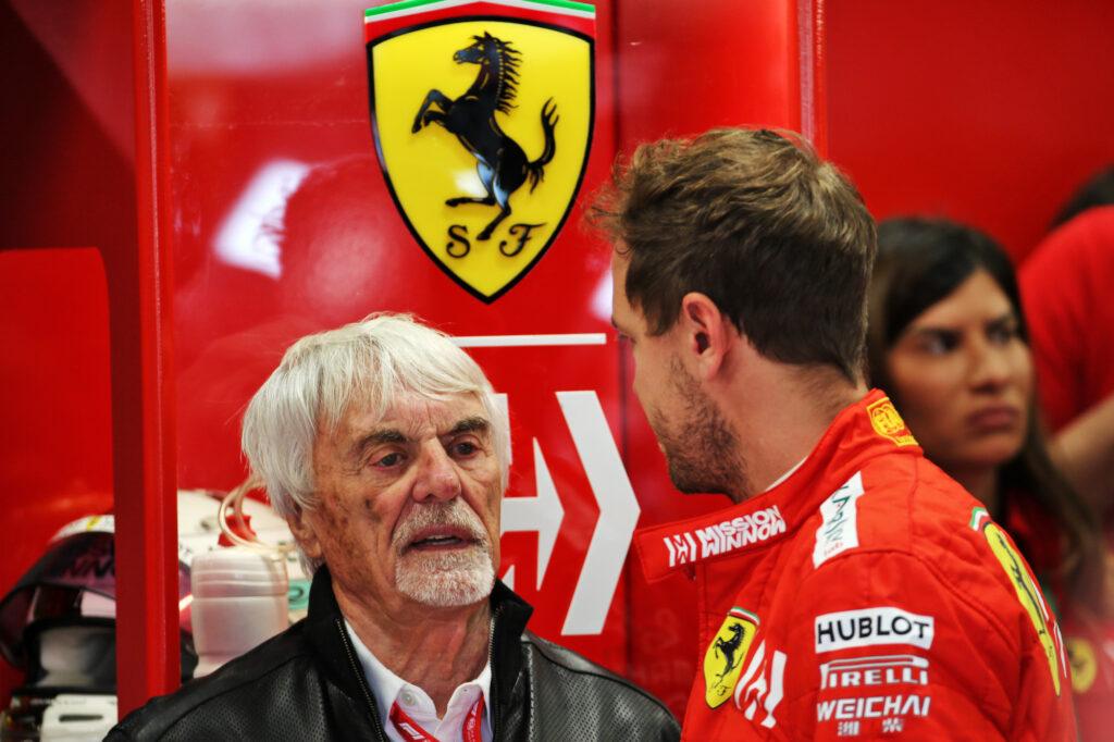"""F1   Ecclestone: """"Il rapporto Vettel-Ferrari non ha mai funzionato"""""""