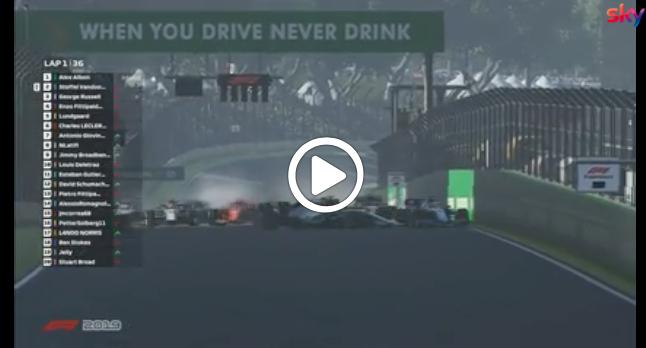 F1 | Virtual GP Interlagos, gli highlights della gara [VIDEO]