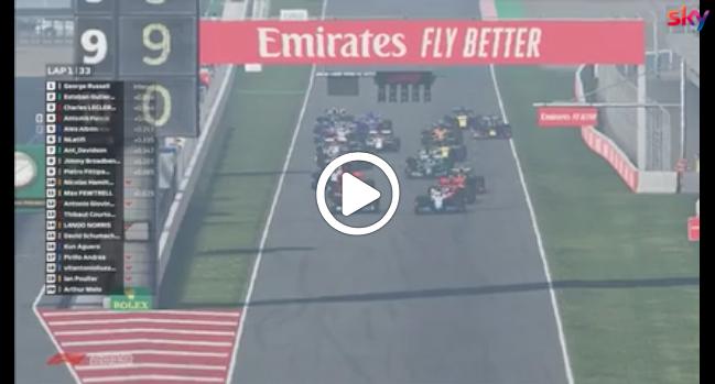 F1 | Virtual GP Spagna, la partenza al Montmelò [VIDEO]