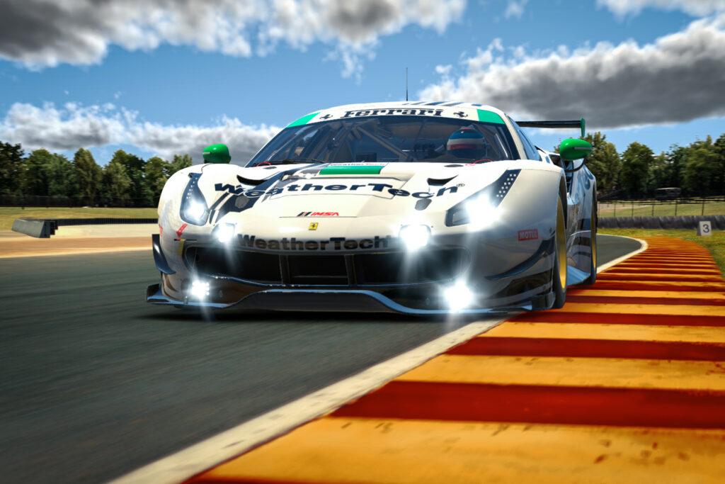 SimRacing | IMSA iRacing Pro Series, cinque Ferrari a Road America