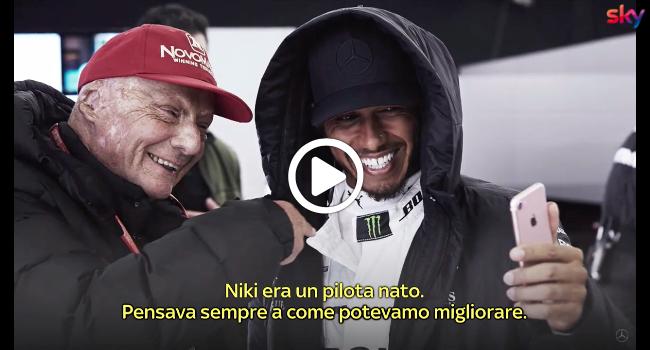F1 | Hamilton e Wolff ricordano il ruolo di Lauda in Mercedes [VIDEO]