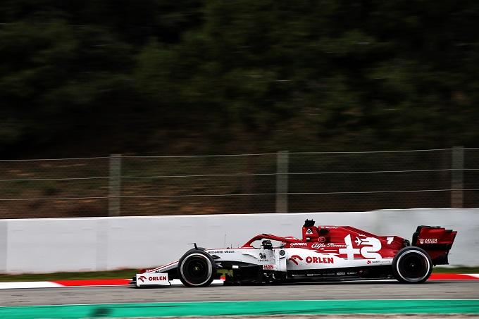 F1 | Raikkonen e Giovinazzi festeggiano il 50° anno di attività della Sauber