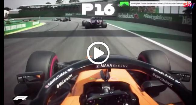 F1 | Sainz in Ferrari, la super rimonta in Brasile nel 2019 [VIDEO]