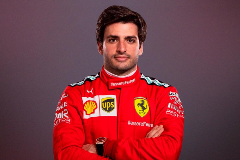 "Oficial: ""Carlos Sainz firmó con Ferrari para 2021"""