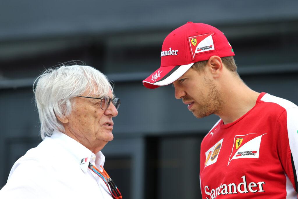 """F1   Ecclestone sulla coppia Hamilton – Vettel: """"Non vedo problemi"""""""