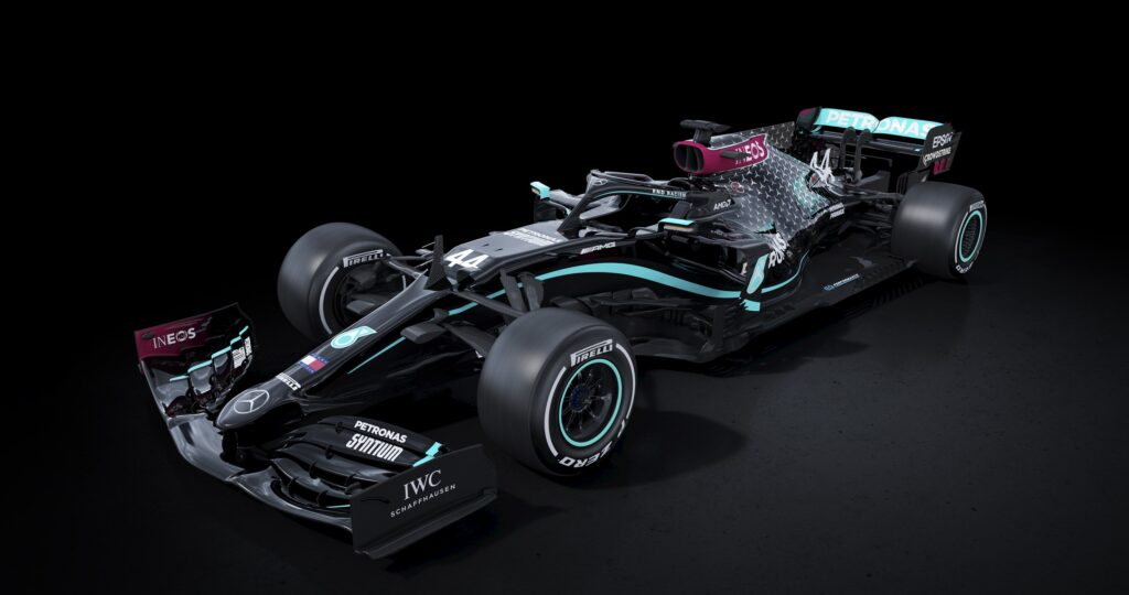 F1 | Mercedes presenta a sorpresa la nuova livrea 2020