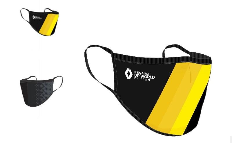 F1 | Renault, in vendita le mascherine anti Coronavirus del team