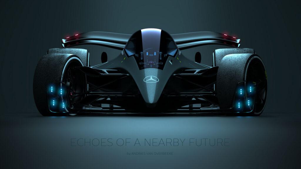 Mercedes Concept futuro - van Overbeeke