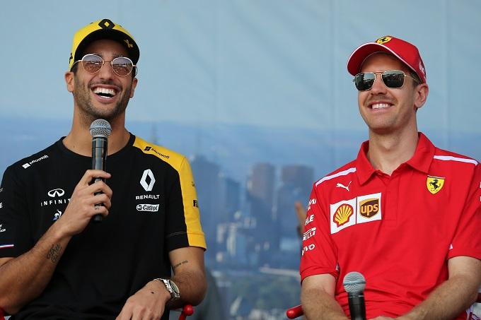 """F1   Ricciardo sul mercato piloti: """"La notizia Vettel-Ferrari ha scatenato tutto"""""""