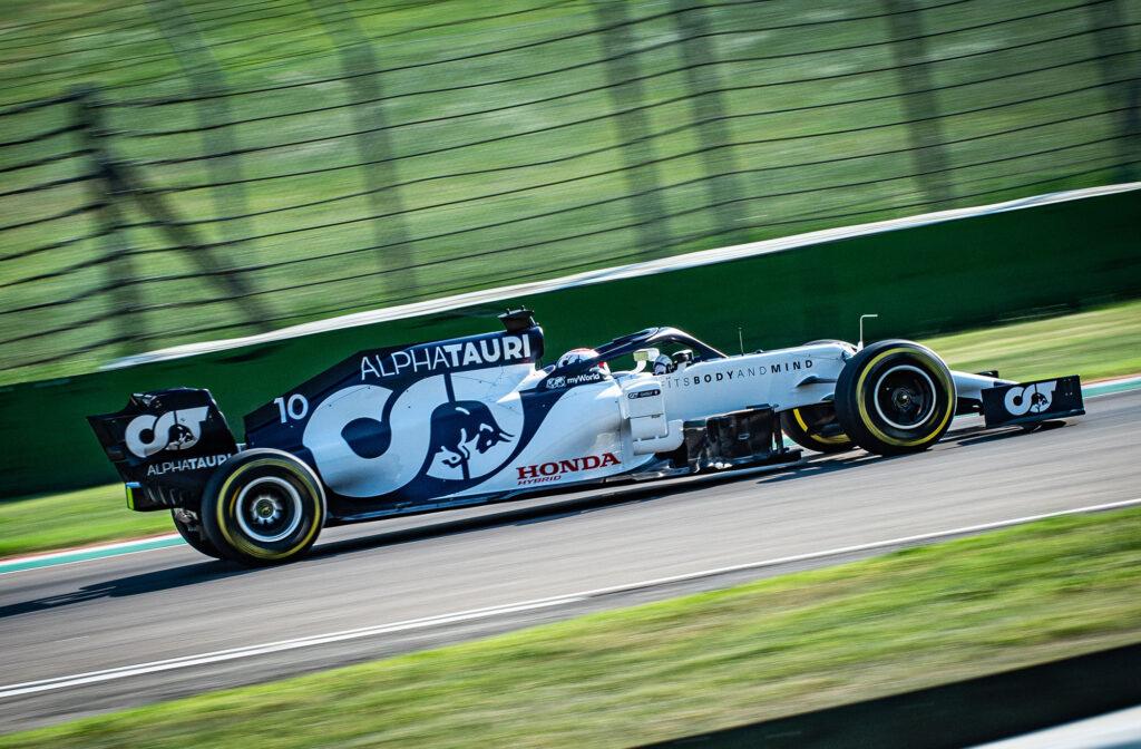 F1   AlphaTauri, Kvyat e Gasly in pista a Imola [FOTOGALLERY]