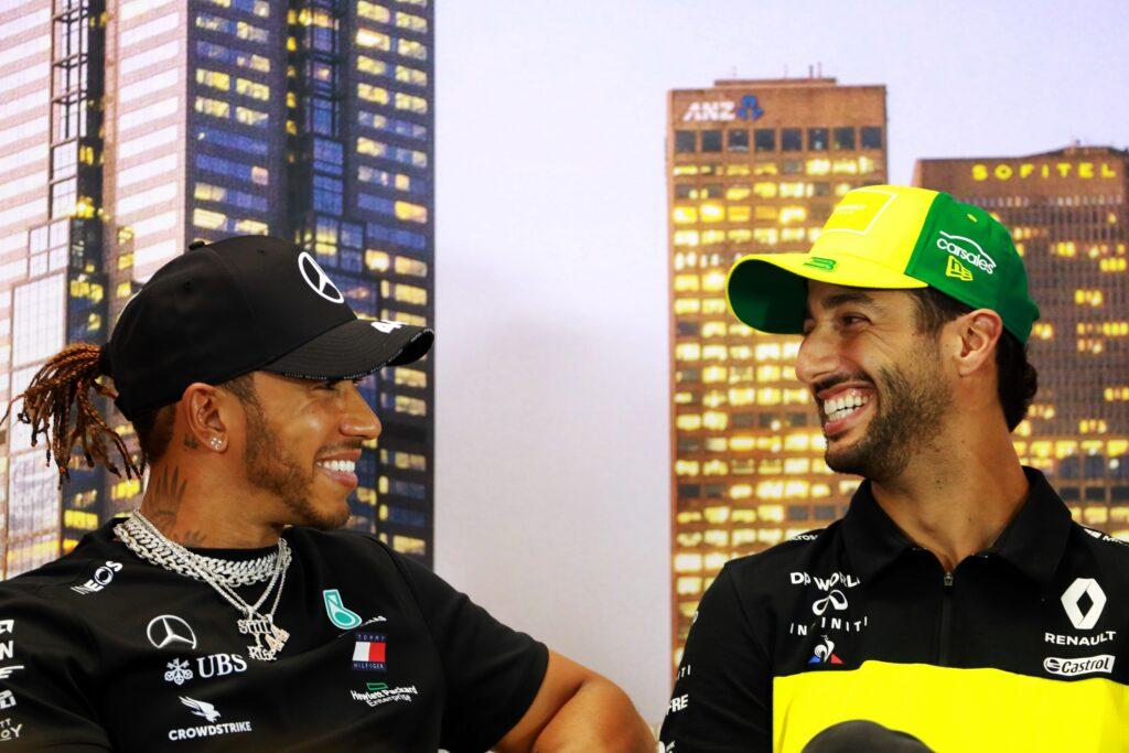 """F1   Ricciardo: """"So di poter competere con Hamilton"""""""