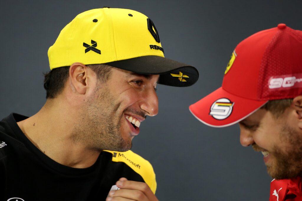 """F1   Ricciardo: """"Con Vettel rispetto reciproco, è una persona leale"""""""