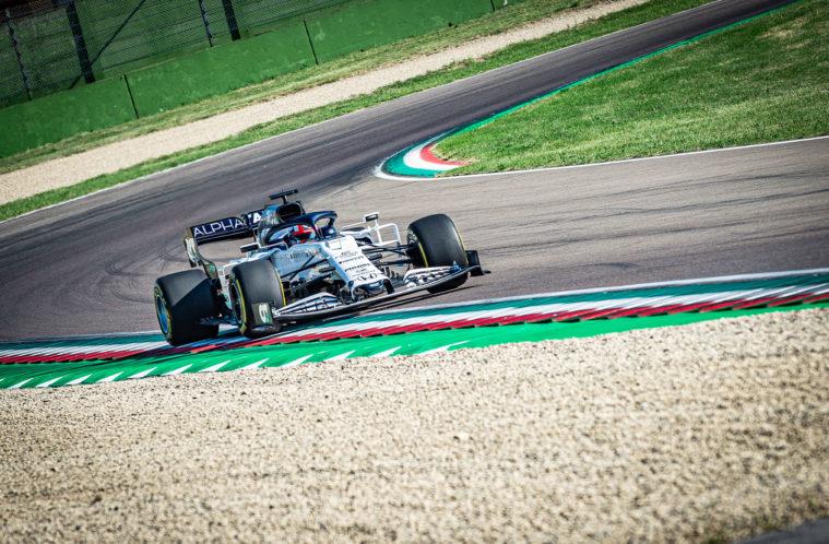 F1   AlphaTauri protagonista all'Autodromo di Imola per un filming day