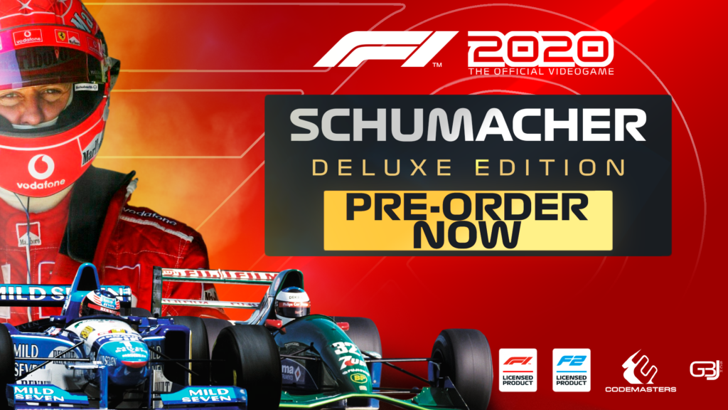 """Formula 1   F1 2020, svelata la """"Schumacher Deluxe Edition"""""""