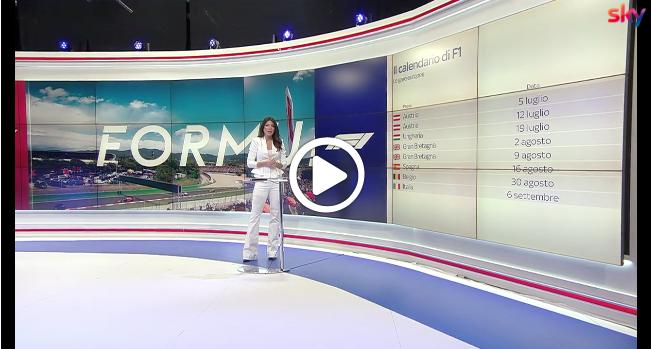 F1   Calendario 2020, Europa protagonista fino al mese di settembre [VIDEO]
