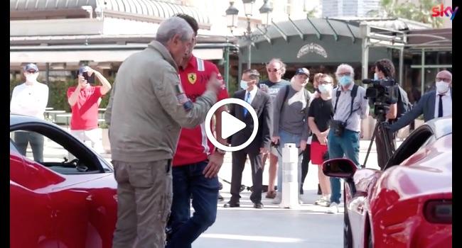 """""""Le grand rendez-vous"""", il film con Leclerc: le immagini del backstage [VIDEO]"""