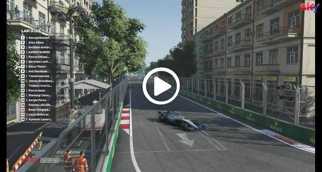 F1 | Virtual GP Baku, gli highlights del Gran Premio [VIDEO]