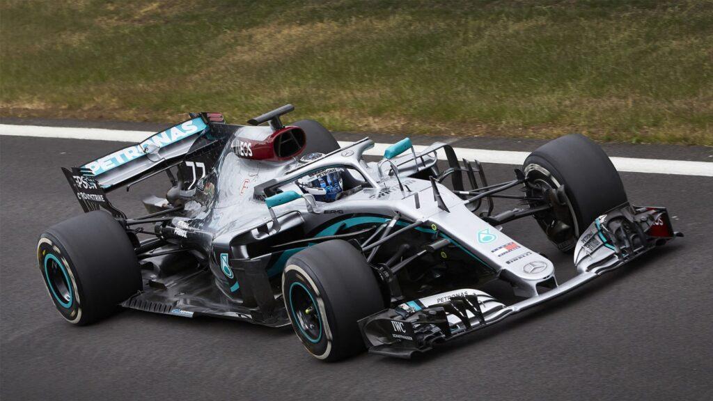 F1 | Mercedes, Bottas torna in pista a Silverstone con la W09