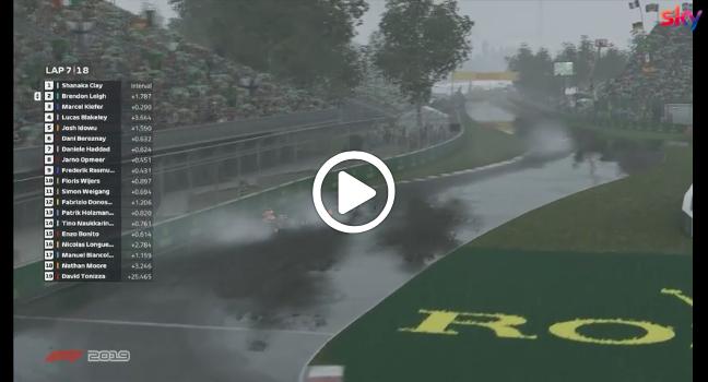 F1 | Pro Race, la manovra di Leigh su Kiefer [VIDEO]