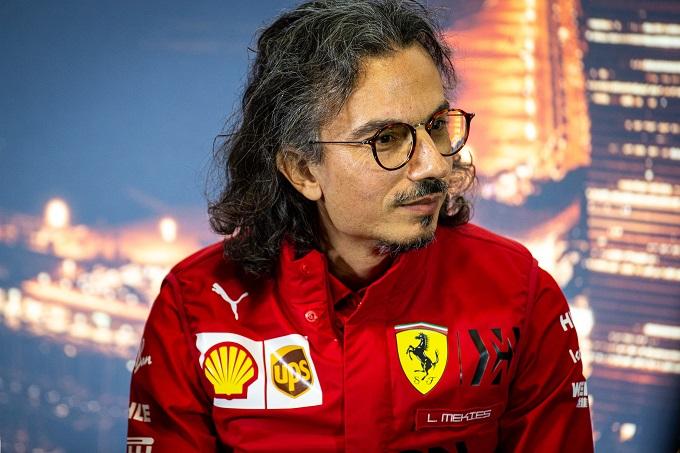 """F1   Ferrari, Mekies: """"La sfida più grande sarà indossare le mascherine per tutto il tempo nei garage"""""""