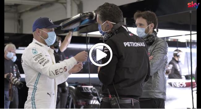 F1 | Mercedes in pista dopo il lockdown: la giornata di Bottas [VIDEO]