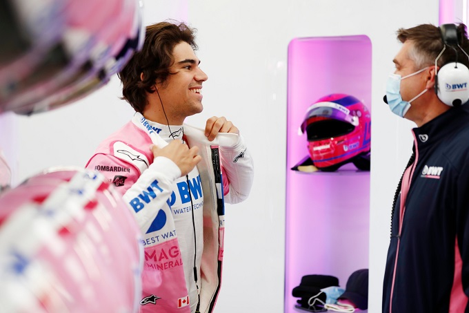 F1 | Racing Point e Lance Stroll tornano in pista a Silverstone per un test con la RP20