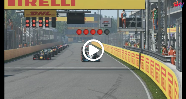 F1 | Virtual GP Canada, la partenza della gara di Montreal [VIDEO]
