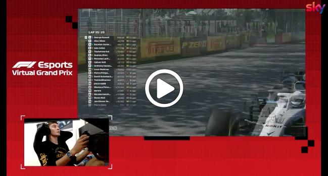 F1 | Virtual GP Canada, Russell vince gara e titolo: l'ultimo giro [VIDEO]