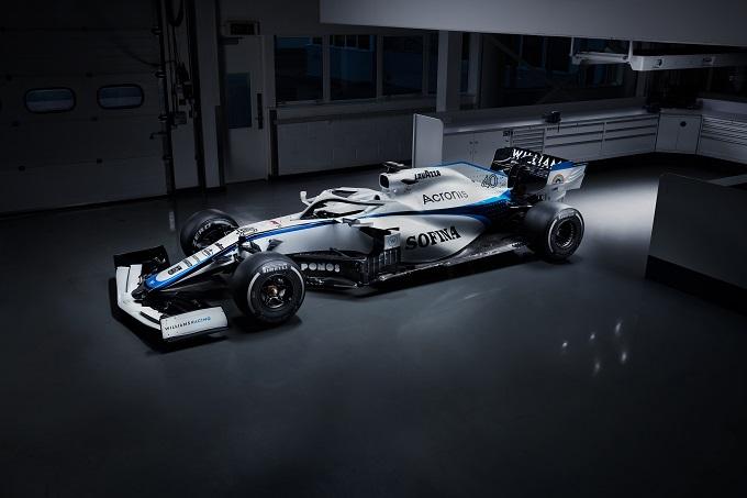 F1 | La Williams presenta la nuova livrea per la stagione 2020