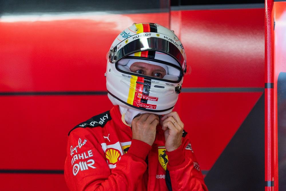 """F1   Vettel: """"Sul ritmo gara siamo vicini alla Racing Point e più veloci della McLaren"""""""
