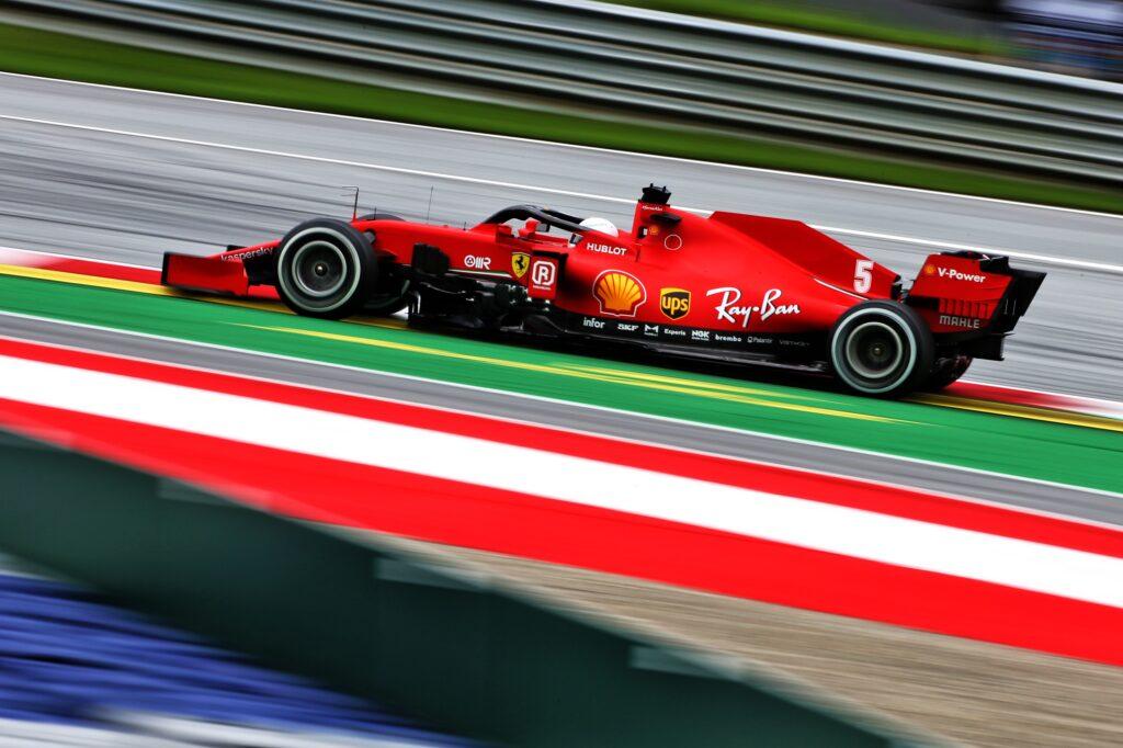 F1   Ferrari, 92 giri per Vettel e Leclerc nella seconda sessione di libere in Austria