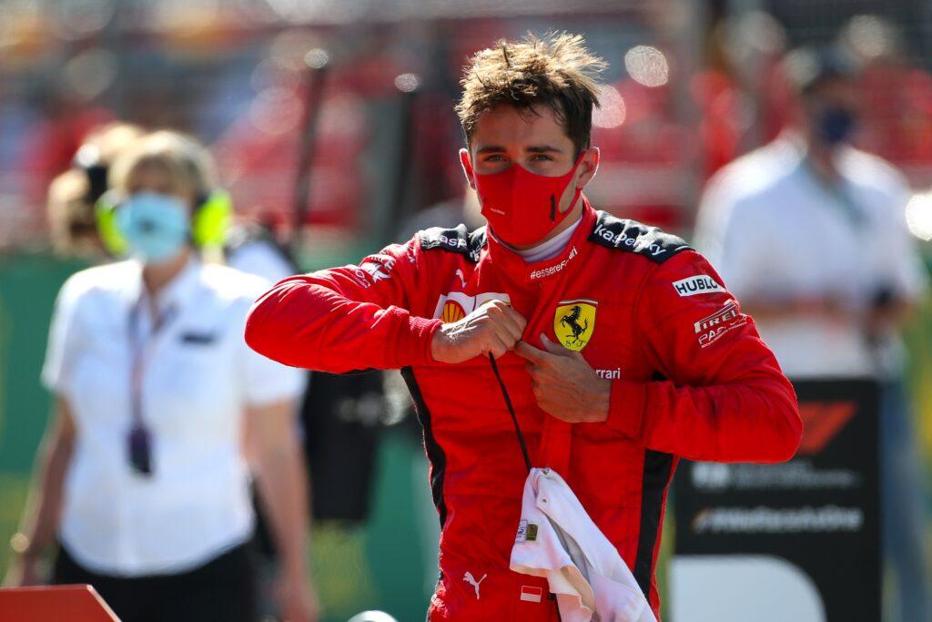 """F1   Ferrari, Leclerc dopo il secondo posto: """"Non ce lo aspettavamo"""""""