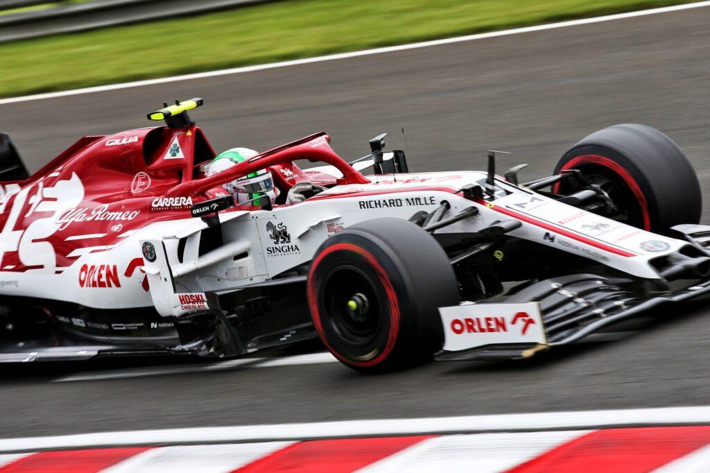 """F1   Alfa Romeo, Giovinazzi in ultima fila davanti a Raikkonen: """"Spero nel ritmo gara"""""""