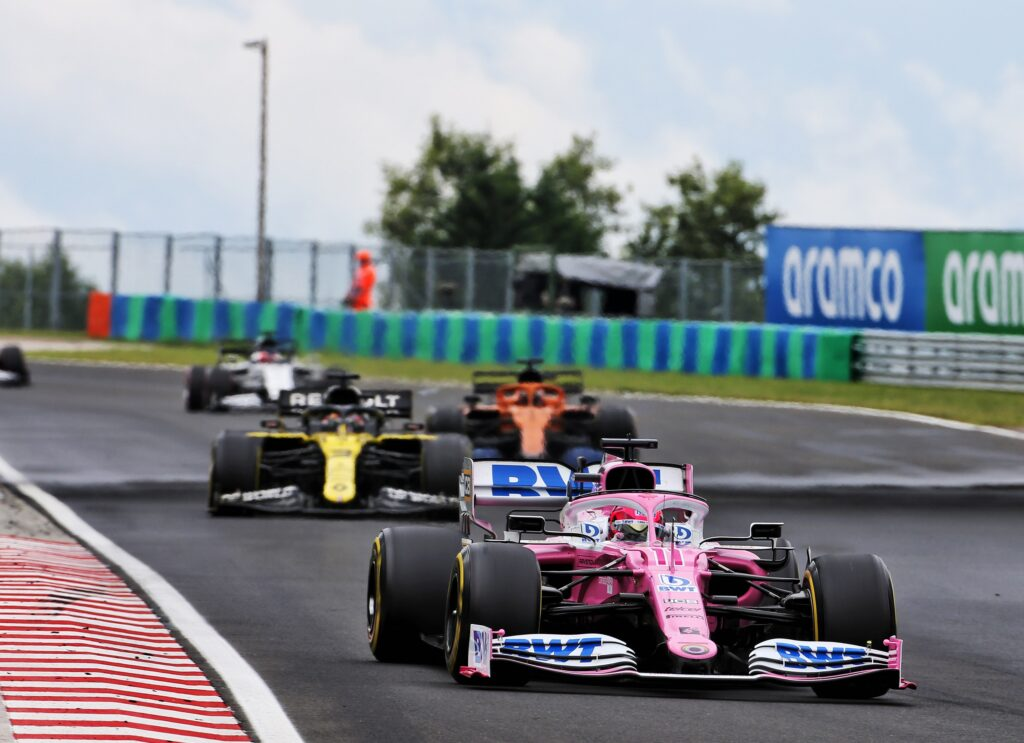 F1 | GP Ungheria, Renault presenta reclamo contro la Racing Point