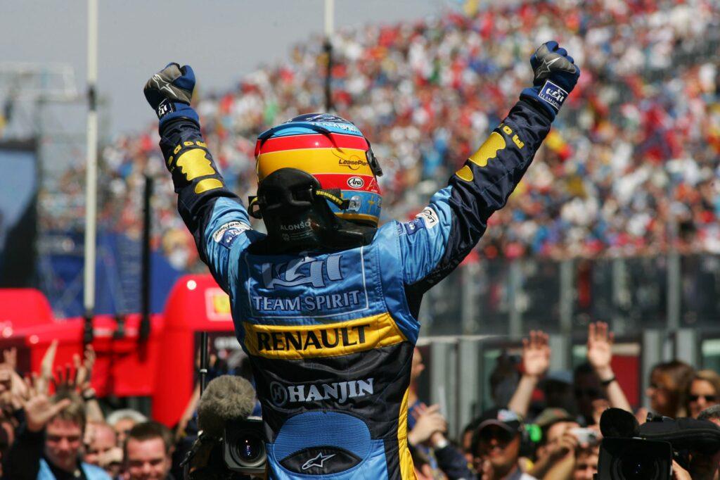Fernando Alonso torna a correre in Formula 1