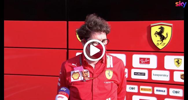 """Formula 1   Binotto esalta Leclerc: """"Che sorpassi in gara"""" [VIDEO]"""