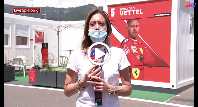 Formula 1   GP Austria, Mara Sangiorgio spiega il protocollo anti-Covid [VIDEO]
